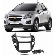 Moldura Painel Dvd 2 Din Chevrolet Nova Tracker 2013/2016 - SONNIC SOUND
