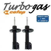 Par Amortecedor Corsa/montana 2002/2012 Dianteiro Turbo Gas Cofap GP30133 / GP30134 - SONNIC SOUND