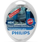Kit Lâmpadas Philips H4/Hb4 4300k Crystal Vision Ultra - SONNIC SOUND