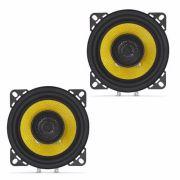 Alto Falante Coaxial 4 120w Nar Audio 400 Cx3 - SONNIC SOUND