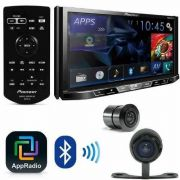 Central Multimidia Pioneer AVH-A4180TV Corolla Gli 2015/2019 AP487 + Camera e Conectores - SONNIC SOUND