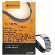 Kit Correia Dentada +tensor Gran Siena 1.4 8v 2015 Original CT488K2 - SONNIC SOUND