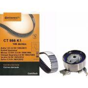 Kit Correia Dentada E Tensor Astra/Kadett/Ipanema/Monza/ Omega/ Suprema/Vectra/Zafira 1.8 e 2.0 8v Original CT866K1 - SONNIC SOUND