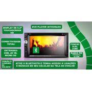 Central Multimídia Evolve Astra Dvd/gps/tv/câmera Para Ar Analógico - SONNIC SOUND