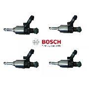 Kit 04 Bico Injetor Bosch Jetta Passat Tiguan Cc Tsi 0261500162 - SONNIC SOUND