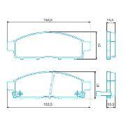 Kit Disco E Pastilha Freio Dianteiro L200 Triton/Dakar Novo BD7019/HQJ2271A - SONNIC SOUND