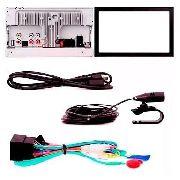 Multimidia Pioneer AVH-A208BT Honda Fit Dx Lx AP534 + Câmera De Ré - SONNIC SOUND