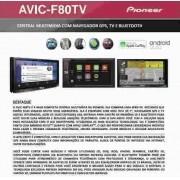 Central Multimídia Pioneer Avic-f80tv Honda Fit Ex/exl 2015 2016 2017 - SONNIC SOUND