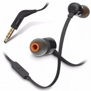 Fone De Ouvido Original JBL T110 IN EAR PRETO By Harman - SONNIC SOUND