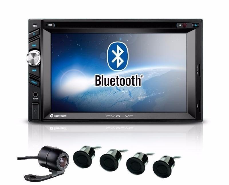 Central Multimídia  Vw Gol Voyage Saveiro G5 Com TV Digital DVD GPS Mapa Bluetooth MP3 USB Ipod SD Card Câmera Ré Grátis - SONNIC SOUND