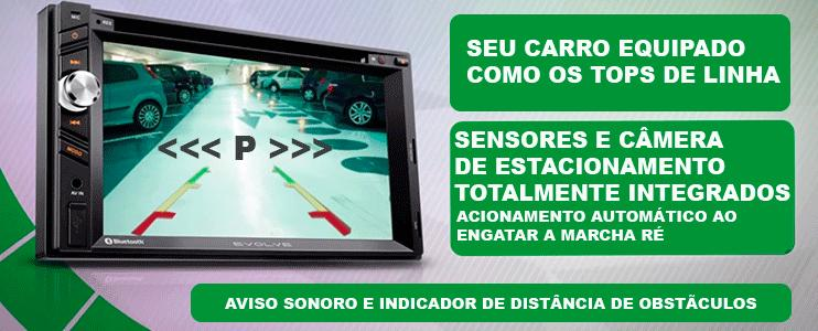 Central Multimídia  Vw Gol Voyage Saveiro G5 Com TV Digital DVD GPS Mapa Bluetooth MP3 USB Ipod SD Card Câmera Ré Grátis - SONNIC SOUND