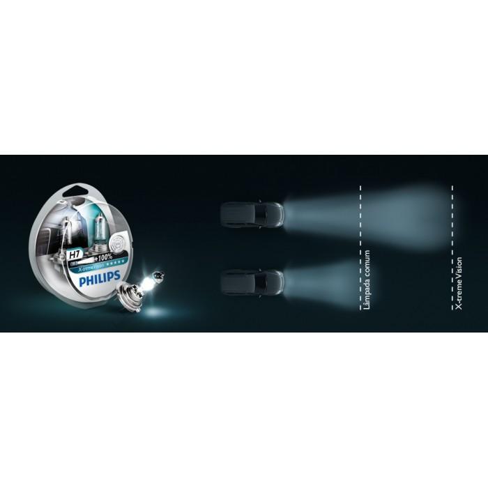 Kit de Lampada X-Treme Vision Philips H11 - 55W - 12V - SONNIC SOUND