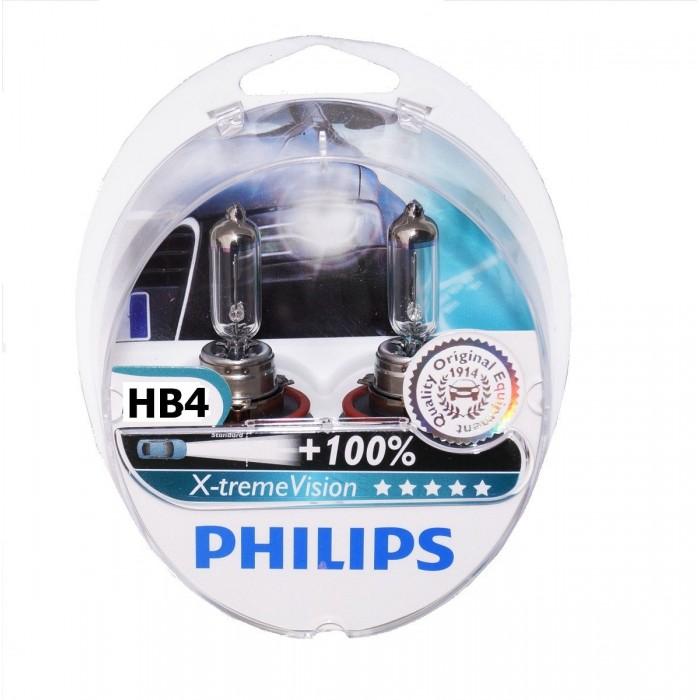 Kit Lampada Philips Xtreme Vision Hb4 55w 12v - SONNIC SOUND