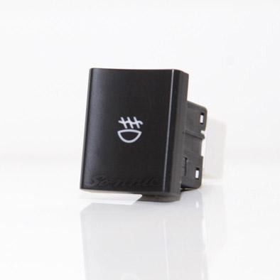 Kit Farol Milha/Neblina Saveiro G6 Com Moldura Para Choques e Botão Tipo Original - SONNIC SOUND