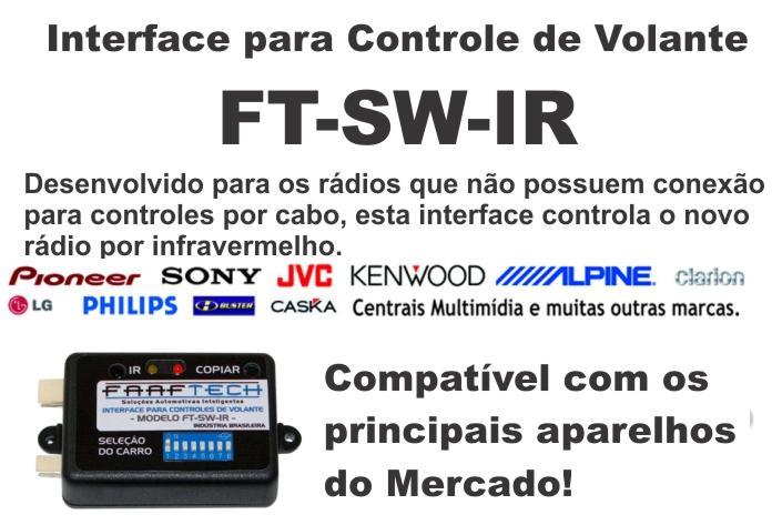 Interface de Volante Faaftech FT-IR - SONNIC SOUND