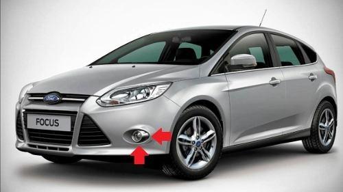 Kit Farol Milha Neblina  Novo Ford Focus 2014/2015 - SONNIC SOUND