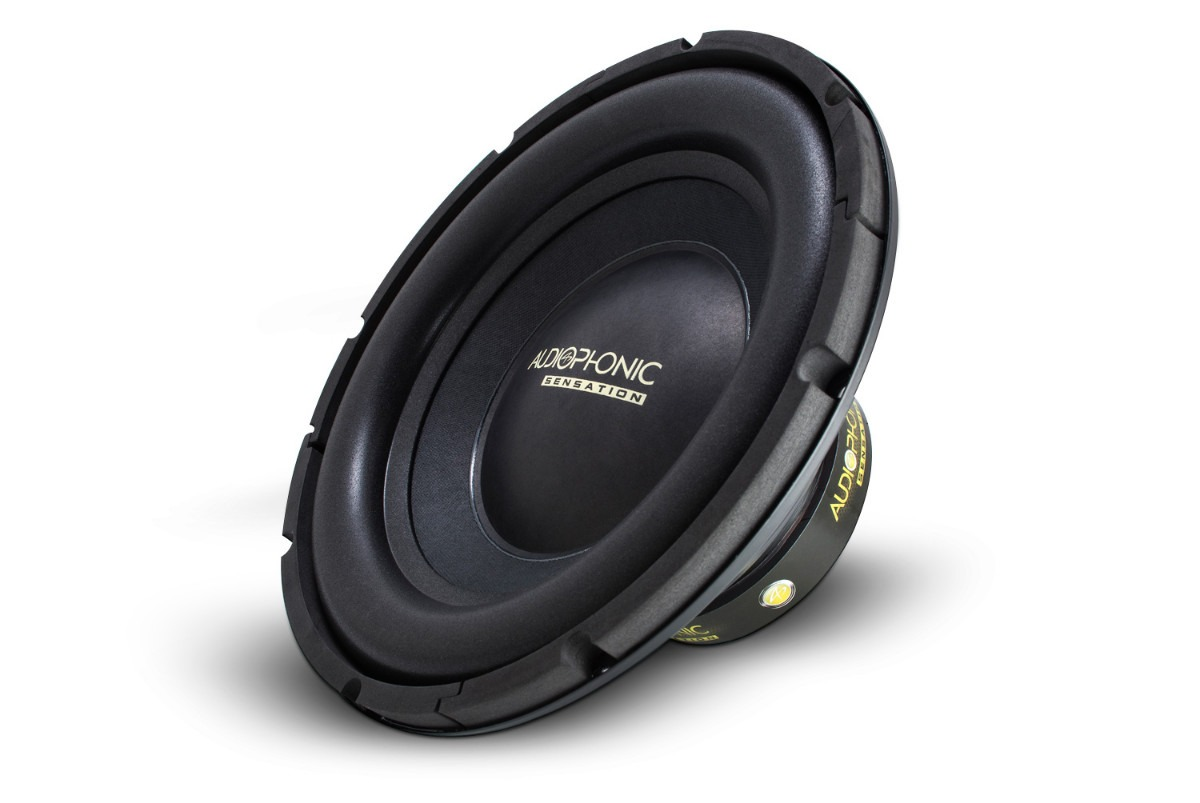 Subwoofer 12 500w Sensation S1-12 S2  Bobina Simples 2Ohms Audiophonic - SONNIC SOUND