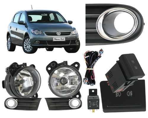 Kit Farol Milha Auxiliar VW GOL/VOYAGE/SAVEIRO G5+Xenon - SONNIC SOUND