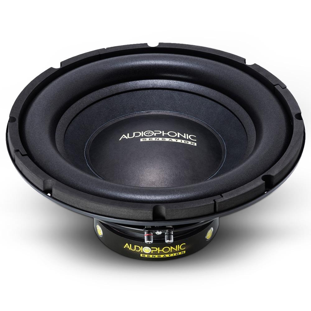 Subwoofer 10 400w Sensation S1-10 S4 Bobina Simples 4 Ohms Audiophonic - SONNIC SOUND