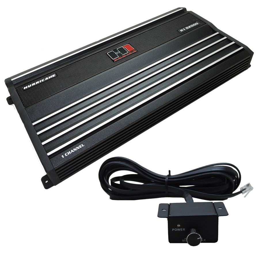 Modulo Hurricane H1 D2000 Digital (1 Canal Mono) 2500w Rms - SONNIC SOUND
