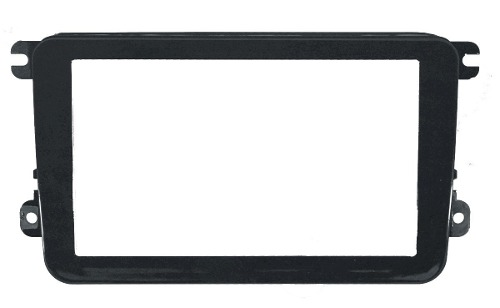 Moldura De Painel Dvd 2 Din Vw Jetta Black Piano AP885 - SONNIC SOUND