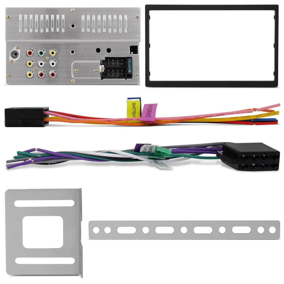 Dvd 2 Din Multilaser Evolve Light P3321 Touch Screen Bluetooth Mirrorlink - SONNIC SOUND