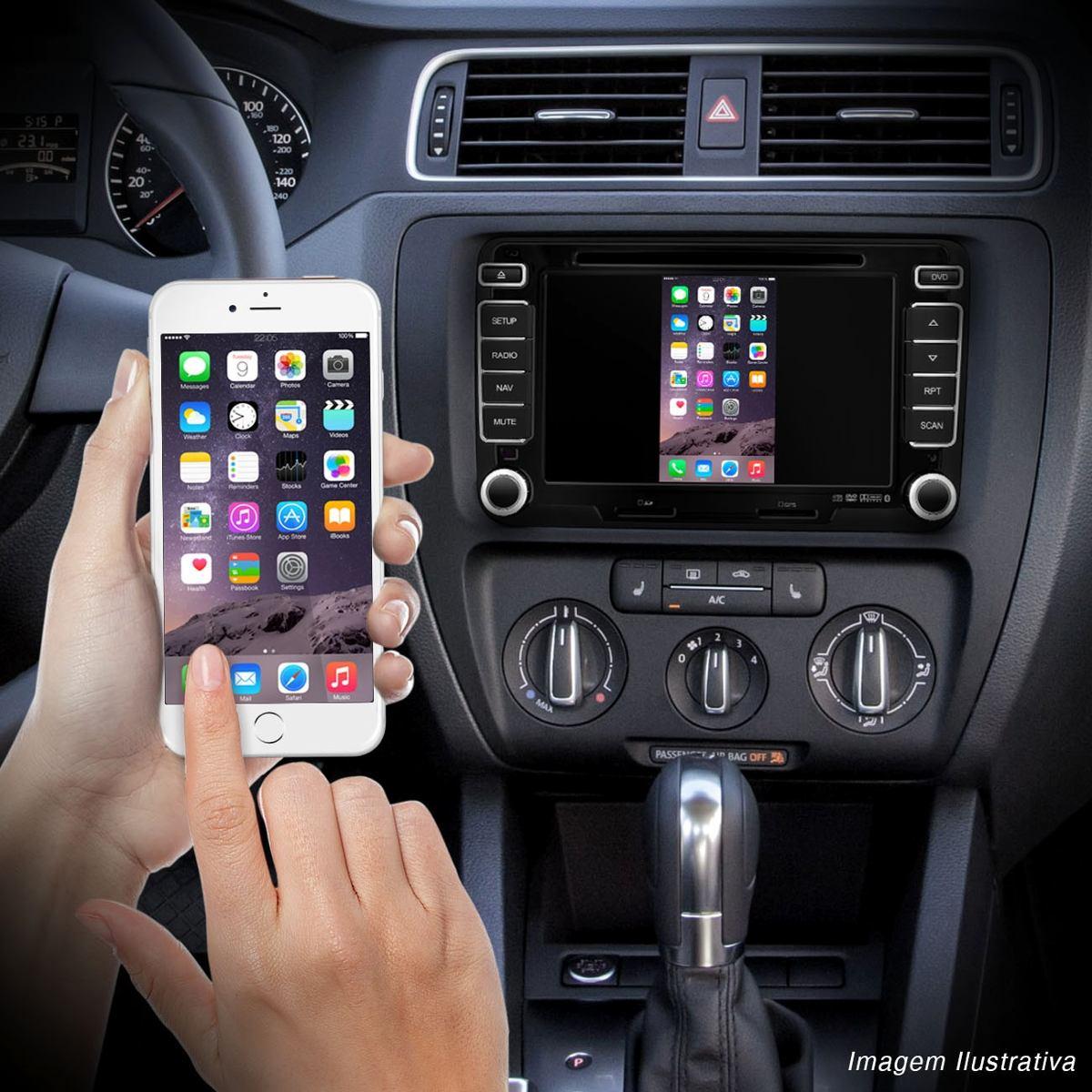 Mirror Cast Espelhamento Iphone E Android Dvd Carro Wi-fi Multilaser - SONNIC SOUND
