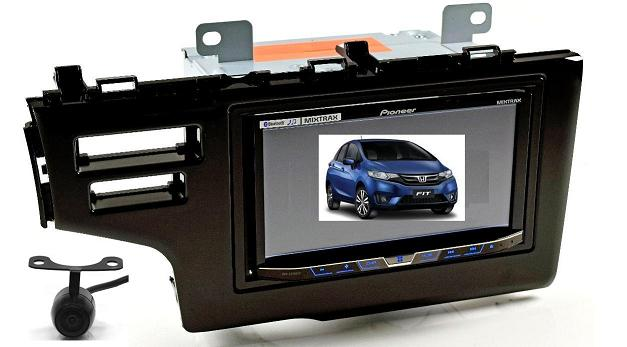 Central Multimídia Pioneer Avh-x598tv Honda Fit Ex/exl 2015/2016 - SONNIC SOUND