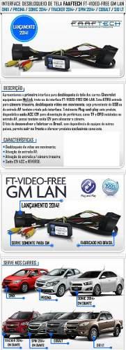 Desbloqueio De Tela My Link Gm Lan+tv/câmera Ré/sensor Estac - SONNIC SOUND