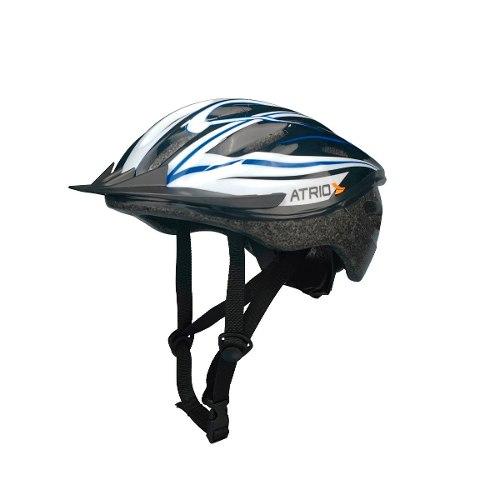 Capacete Ciclismo Bicicleta Multilaser Atrio Bi038 G Azul - SONNIC SOUND