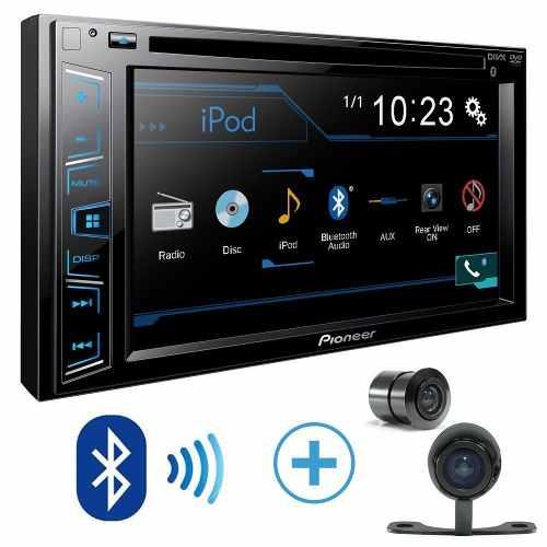 Dvd Pioneer Avh-A208BT /câmera/interface/moldura Golf/polo - SONNIC SOUND