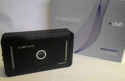 Módulo Amplificador 4 Canais Audiophonic Club 800.4/v2+rca - SONNIC SOUND