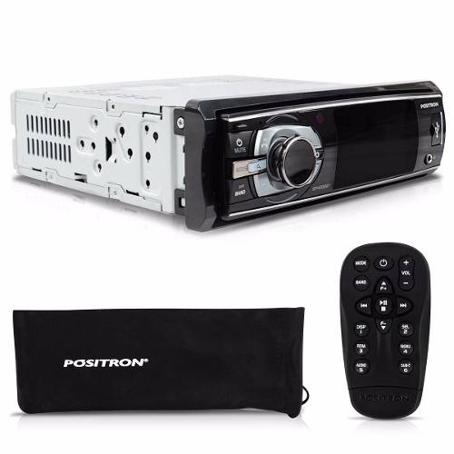 Dvd Positron 3  Sp4330bt Bluetooth Mp3 Usb Viva Voz Micro Sd - SONNIC SOUND