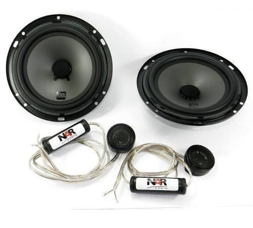 Kit 2 Vias Nar Audio 600 Cs1 6 +kit 2 Vias 525cs-1 5  200rms - SONNIC SOUND