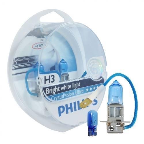 Kit Lâmpadas  Philips H4/h3 4300k Cristal Vision Crystal - SONNIC SOUND