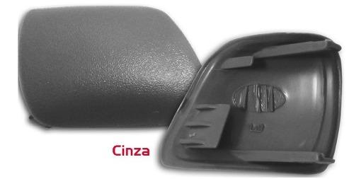 Par Acabamento Puxador Porta Dianteira Santana Quantum 1998 ao 2006 Cinza AP459/AP460 - SONNIC SOUND
