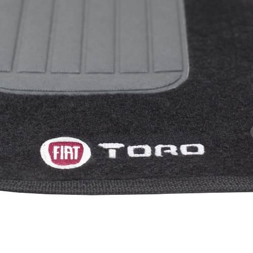 Jogo Tapete Carpete 5 Peças Fiat Toro 2016/2017 - SONNIC SOUND