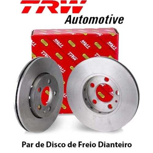 Kit Disco+pastilha Freio Dianteiro Amarok 2010/2016 Original Trw RCDI09030/RCPT13390 - SONNIC SOUND