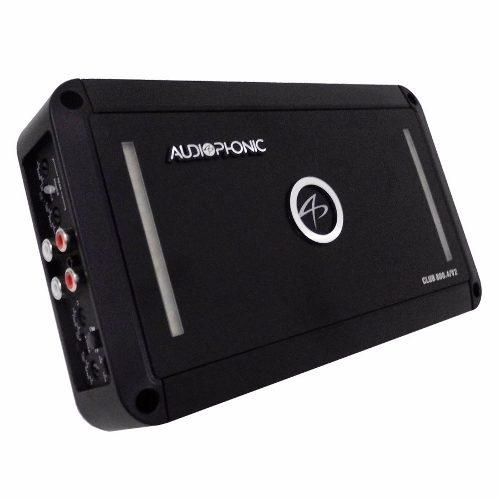 Novo Amplificador 4 Canais Audiophonic Club 800.4/v2 - SONNIC SOUND