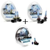 Lâmpada Philips Crystal Vision Ultra H11/hb4/hb3 Honda Civic - SONNIC SOUND
