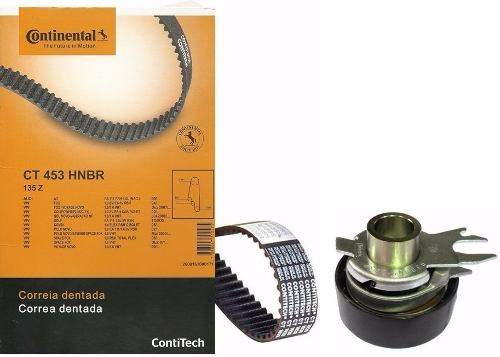 Kit Correia Dentada E Tensor Fox/Gol/Golf/Polo/Saveiro/Space Fox/Voyage/A3 Contitech 1.0 1.6 CT453K1 - SONNIC SOUND