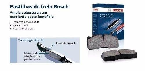 Pastilhas Freio Dianteira Nova Tracker 2014/2016 Original Bosch BB1101 - SONNIC SOUND