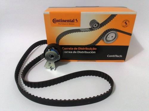 Kit Correia Dentada+tensor Citroen C3/Peugeot 206/207 1.4 8v Original Contitech CT718K3 - SONNIC SOUND