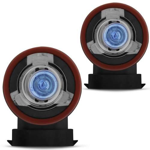 Par Lampada Super Branca H11 5000k Multilaser C/ Inmetro 55w - SONNIC SOUND