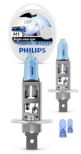 Kit Philips Com H7/h11/h1 4300k Crystal Vision Ultra 4300k  - SONNIC PARTS