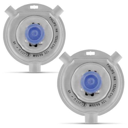 Kit Lâmpadas Philips H4/h1 4300k Cristal Vision Crystal - SONNIC SOUND