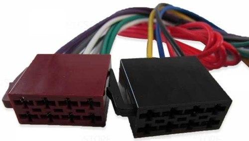 Plug Chicote Conector Adaptador Rádio 16 Vias Fiat Toro - SONNIC SOUND