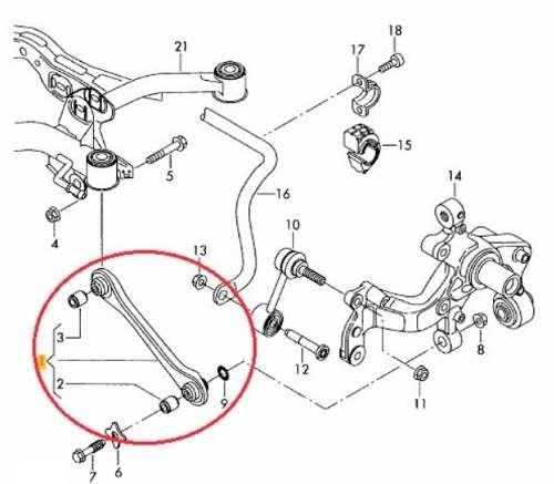 Braço Reto Oscilante Suspensão Traseira A3/Q3/S3/Passat/Golf/Jetta Ld Esquerdo 925442 - SONNIC SOUND