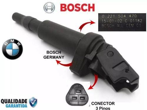 Bobina Mini Cooper Original Bosch 12137594596 0221504470 - SONNIC SOUND