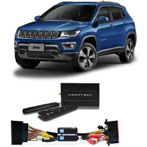 Desbloqueio De Tela Jeep Compass 2015/2018 E Tv Digital 1seg Faaftech FT-VF-UC2 /Receptor d 1Seg - SONNIC SOUND